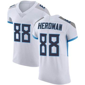 Men's Nike Tennessee Titans Cole Herdman White Vapor Untouchable Jersey - Elite