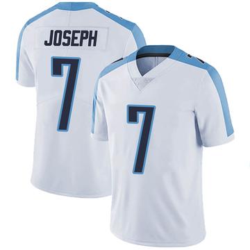 Men's Nike Tennessee Titans Greg Joseph White Vapor Untouchable Jersey - Limited