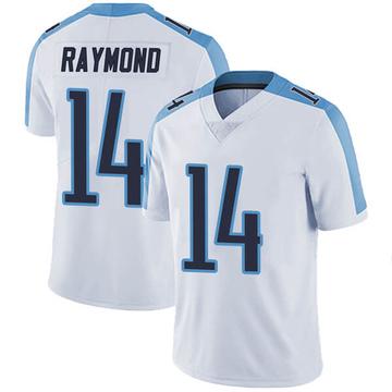 Men's Nike Tennessee Titans Kalif Raymond White Vapor Untouchable Jersey - Limited