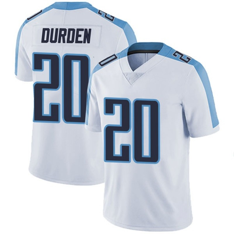 the latest 049b0 da598 Men's Nike Tennessee Titans Kenneth Durden White Vapor Untouchable Jersey -  Limited