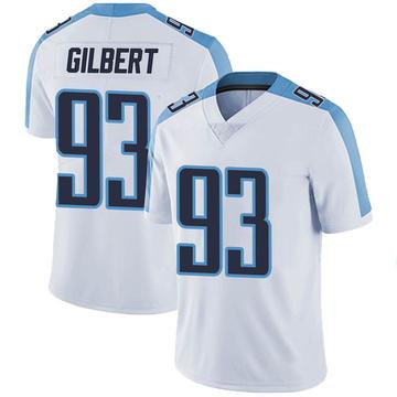Men's Nike Tennessee Titans Reggie Gilbert White Vapor Untouchable Jersey - Limited
