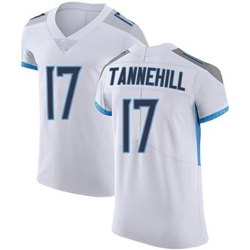 Men's Nike Tennessee Titans Ryan Tannehill White Vapor Untouchable Jersey - Elite