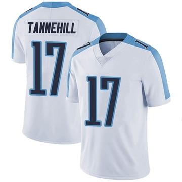 Men's Nike Tennessee Titans Ryan Tannehill White Vapor Untouchable Jersey - Limited