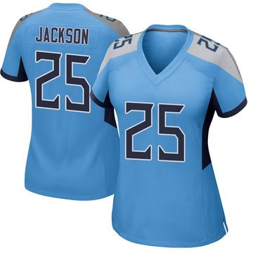 Women's Nike Tennessee Titans Adoree' Jackson Light Blue Jersey - Game