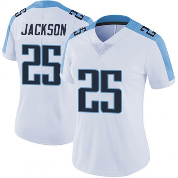 Women's Nike Tennessee Titans Adoree' Jackson White Vapor Untouchable Jersey - Limited