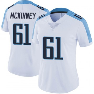 Women's Nike Tennessee Titans Anthony McKinney White Vapor Untouchable Jersey - Limited