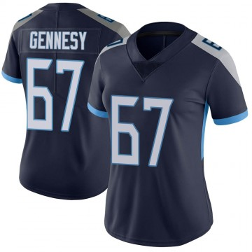 Women's Nike Tennessee Titans Avery Gennesy Navy Vapor Untouchable Jersey - Limited