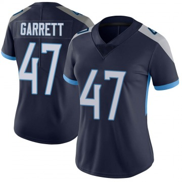 Women's Nike Tennessee Titans Cale Garrett Navy Vapor Untouchable Jersey - Limited