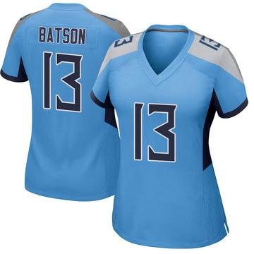 Women's Nike Tennessee Titans Cameron Batson Light Blue Jersey - Game