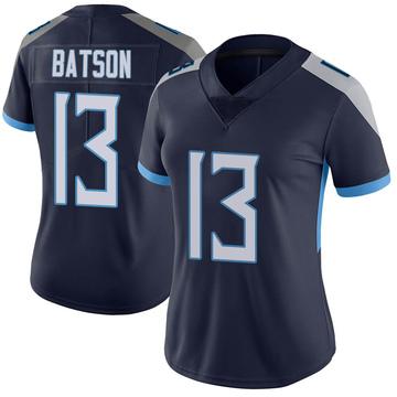 Women's Nike Tennessee Titans Cameron Batson Navy Vapor Untouchable Jersey - Limited