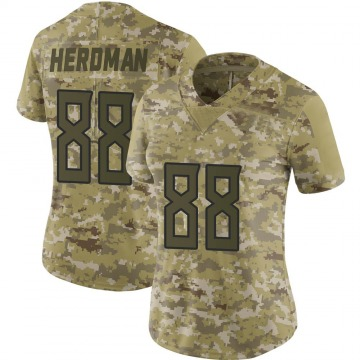 Women's Nike Tennessee Titans Cole Herdman Camo 2018 Salute to Service Jersey - Limited
