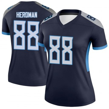 Women's Nike Tennessee Titans Cole Herdman Navy Jersey - Legend