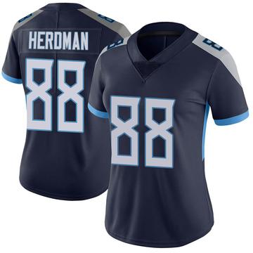 Women's Nike Tennessee Titans Cole Herdman Navy Vapor Untouchable Jersey - Limited
