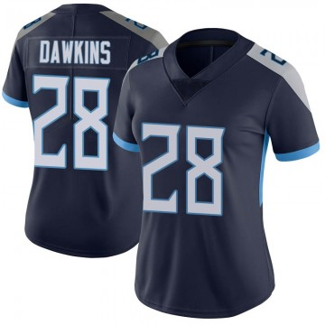 Women's Nike Tennessee Titans Dalyn Dawkins Navy Vapor Untouchable Jersey - Limited