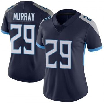 Women's Nike Tennessee Titans DeMarco Murray Navy Vapor Untouchable Jersey - Limited