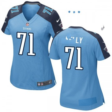 Women's Nike Tennessee Titans Dennis Kelly Light Blue Team Color Jersey - Game