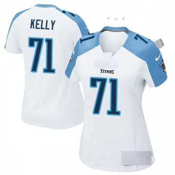 Women's Nike Tennessee Titans Dennis Kelly White Jersey - Game