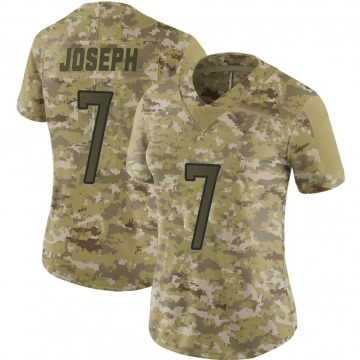 Women's Nike Tennessee Titans Greg Joseph Camo 2018 Salute to Service Jersey - Limited