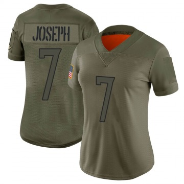 Women's Nike Tennessee Titans Greg Joseph Camo 2019 Salute to Service Jersey - Limited