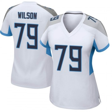Women's Nike Tennessee Titans Isaiah Wilson White Jersey - Game