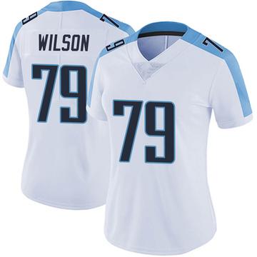 Women's Nike Tennessee Titans Isaiah Wilson White Vapor Untouchable Jersey - Limited