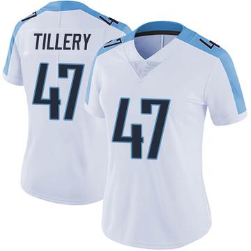 Women's Nike Tennessee Titans JoJo Tillery White Vapor Untouchable Jersey - Limited