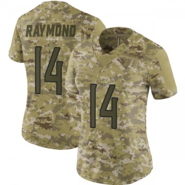 Women's Nike Tennessee Titans Kalif Raymond Camo 2018 Salute to Service Jersey - Limited