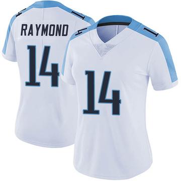 Women's Nike Tennessee Titans Kalif Raymond White Vapor Untouchable Jersey - Limited
