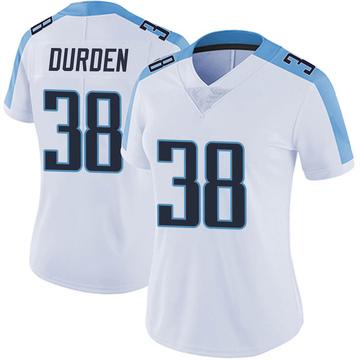 Women's Nike Tennessee Titans Kenneth Durden White Vapor Untouchable Jersey - Limited