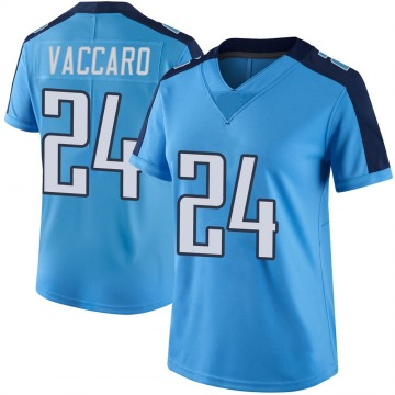 Women's Nike Tennessee Titans Kenny Vaccaro Light Blue Color Rush Jersey - Limited