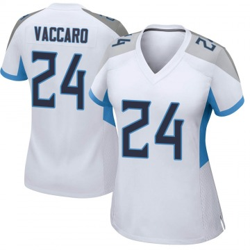Women's Nike Tennessee Titans Kenny Vaccaro White Jersey - Game