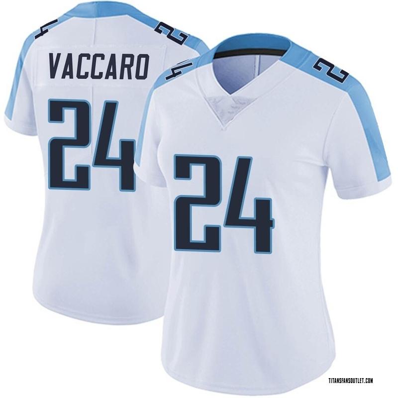 Women's Nike Tennessee Titans Kenny Vaccaro White Vapor ...