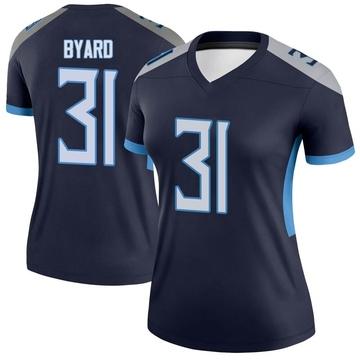 Women's Nike Tennessee Titans Kevin Byard Navy Jersey - Legend