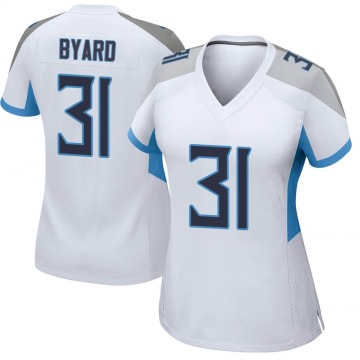 Women's Nike Tennessee Titans Kevin Byard White Jersey - Game