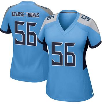 Women's Nike Tennessee Titans Khaylan Kearse-Thomas Light Blue Jersey - Game