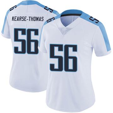Women's Nike Tennessee Titans Khaylan Kearse-Thomas White Vapor Untouchable Jersey - Limited