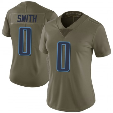 Women's Nike Tennessee Titans Kobe Smith Green 2017 Salute to Service Jersey - Limited