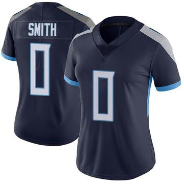 Women's Nike Tennessee Titans Kobe Smith Navy Vapor Untouchable Jersey - Limited
