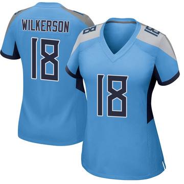Women's Nike Tennessee Titans Kristian Wilkerson Light Blue Jersey - Game