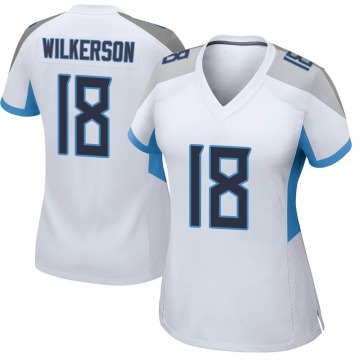 Women's Nike Tennessee Titans Kristian Wilkerson White Jersey - Game