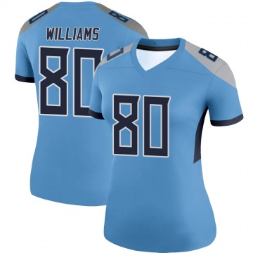 Women's Nike Tennessee Titans Kyle Williams Light Blue Jersey - Legend
