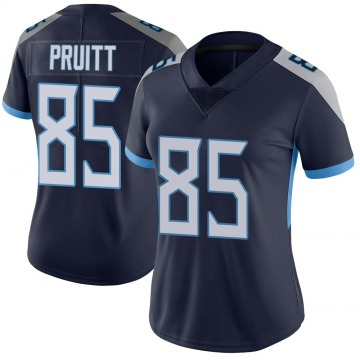 Women's Nike Tennessee Titans MyCole Pruitt Navy Blue Alternate Vapor Untouchable Jersey - Limited