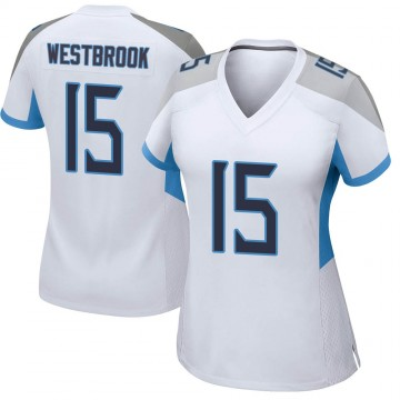 Women's Nike Tennessee Titans Nick Westbrook White Jersey - Game