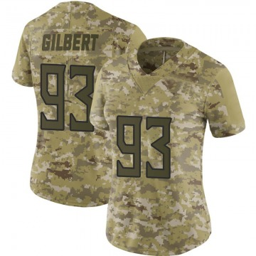 Women's Nike Tennessee Titans Reggie Gilbert Camo 2018 Salute to Service Jersey - Limited