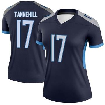 Women's Nike Tennessee Titans Ryan Tannehill Navy Jersey - Legend