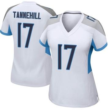 Women's Nike Tennessee Titans Ryan Tannehill White Jersey - Game