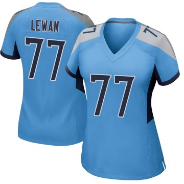 Women's Nike Tennessee Titans Taylor Lewan Light Blue Jersey - Game