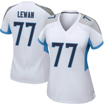 Women's Nike Tennessee Titans Taylor Lewan White Jersey - Game