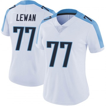 Women's Nike Tennessee Titans Taylor Lewan White Vapor Untouchable Jersey - Limited