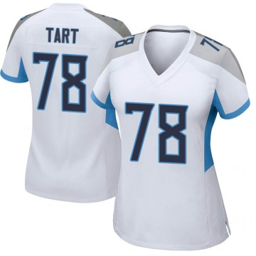 Women's Nike Tennessee Titans Teair Tart White Jersey - Game